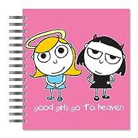 ECOeverywhere Good Girls画像フォトアルバム、18ページ、写真72保持、7.75X 8.75インチ、マルチカラー( pa11814)