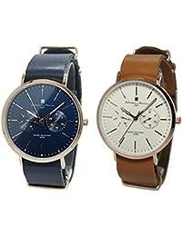 [サルバトーレマーラ]Salvatore Marra 腕時計 ペアウォッチ ペアBOX付 SM15117-PGNVPGSM15117-PGWHPG 2本セット レディース メンズ[国内正規品]