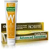Pearlie White Advanced Sensitive Hypoallergenic Fluoride Toothpaste (4.6oz) 130g