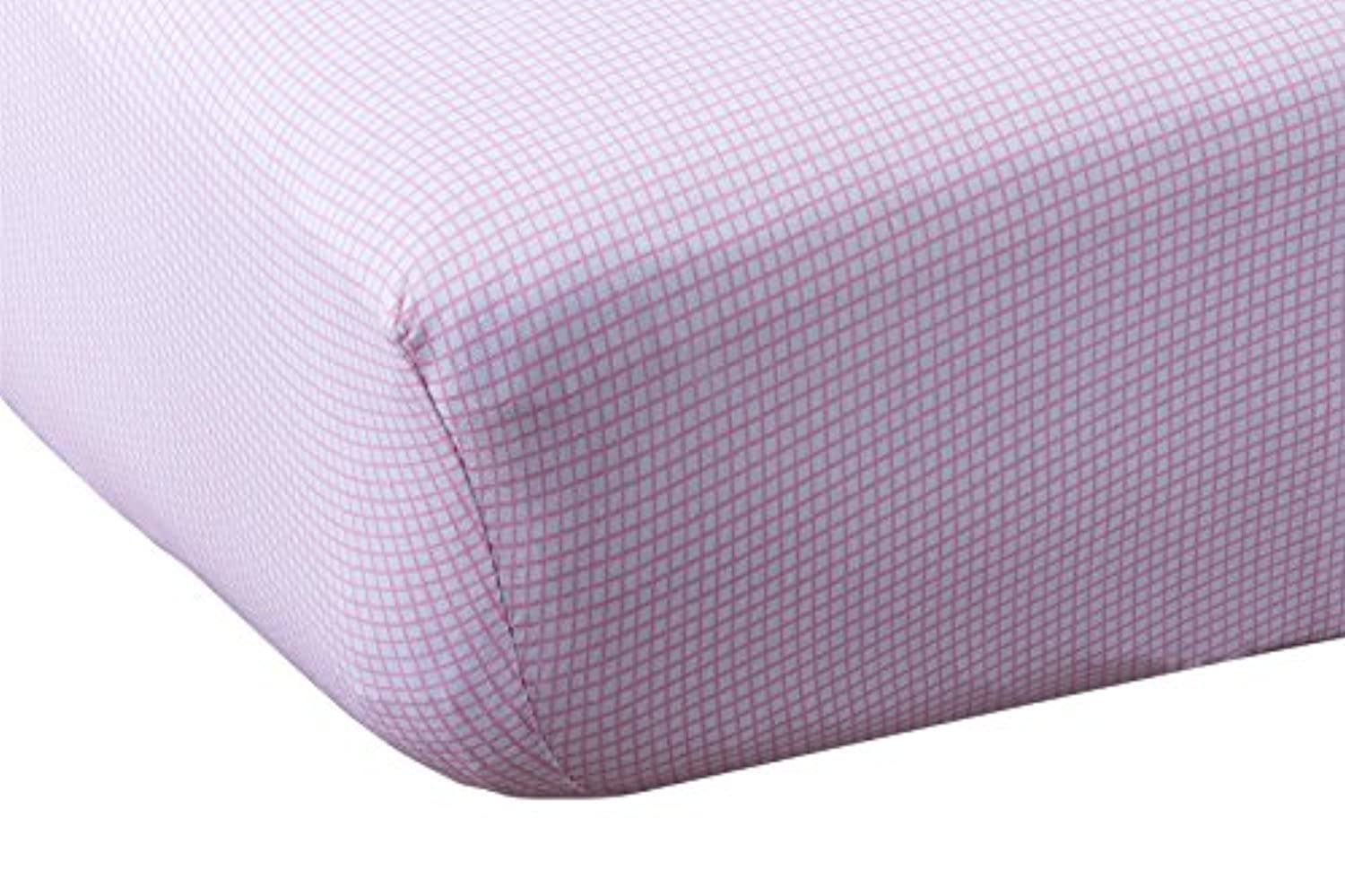 Abstract Baby Fitted Gingham Crib Sheet (28 X 52, Pink) by Abstract
