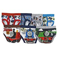 Thomas The Tank Engine Train Toddler Boys' 7 Pack Underwear Briefs