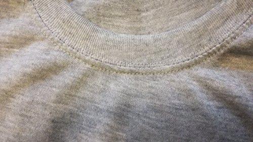 Tシャツ 2枚セット 丸首タイプ 無地 さらっとした着心地 綿 混合 MG