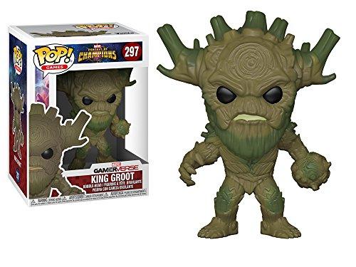 Marvel Contest of Champions(MARVEL オールスターバトル) King Groot(キング・グルート) FUNKO/ファンコ POP MARVEL VINYL ボブルヘッド [並行輸入品]