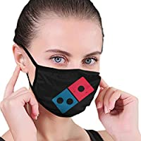 YBshirt Women's Dominos Pizza Logo Mouth Cover Protection Dustproof Washable Reusable Comfy Windproof Mouth Scarves