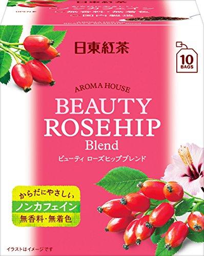 日東紅茶 アロマハウス ビューティローズヒップ 10袋入り ×6個