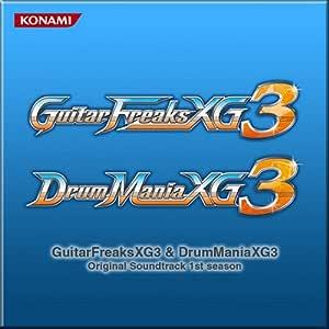 GuitarFreaksXG3 & DrumManiaXG3 Original Soundtrack 1st season