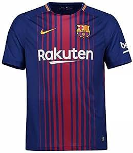 NIKE(ナイキ) FCバルセロナ ホームユニフォーム 2017/18 [10 メッシ] [サイズ:インポートXXL] FC Barcelona Home Shirt 2017/18 [10 Messi] [Size:Import XXL] [並行輸入品]