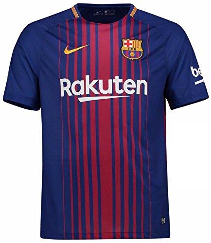 NIKE(ナイキ) FCバルセロナ ホームユニフォーム 2017/18 [8 A.イニエスタ] [サイズ:インポートL] FC Barcelona Home Shirt 2017/18 [8 A.Iniesta] [Size:Import L] [並行輸入品]