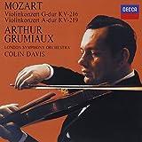 モーツァルト:ヴァイオリン協奏曲第3番・第5番<トルコ風>