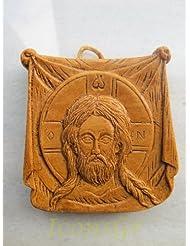 Handmade Carved Aromaticワックスから祝福アイコンアトスのマンディリオン123