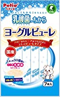 ペティオ (Petio) 犬用おやつ 乳酸菌のちから ヨーグルピューレ 7本入 ヨーグルト
