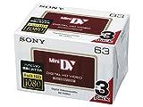 SONY ミニDVカセット 3DVM63HD