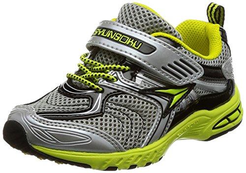[シュンソク] 運動靴 Hi-STANDARD SJC 3990 シルバー 17.5 cm 2E