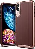 Caseology iPhone XS Max(6.5インチ)用ケース Wavelength Series TPU/PC ミリタリーグレード通過(米国防総省ドロップテスト) CO-A18L-GRL (ワインレッド)