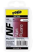 TOKO(トコ) スノーボード スキー用 ワックス ホットワックス NF 純パラフィン レッド 40g 5501002