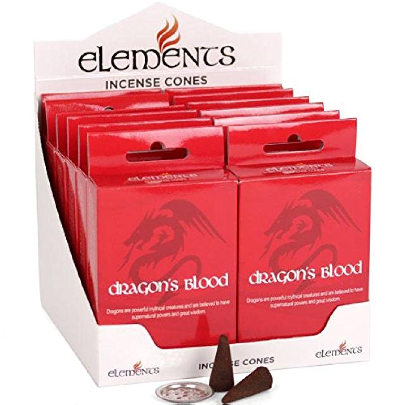 主婦信頼性宿命12 Packs Of Elements Dragon's Blood Incense Cones