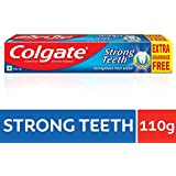 Colgate Toothpaste Strong Teeth Dental Cream -100 Gms (Anti-cavity)