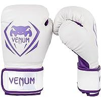 【VENUM】 ボクシンググローブ Contender (コンテンダー)(白/パープル) (14oz)
