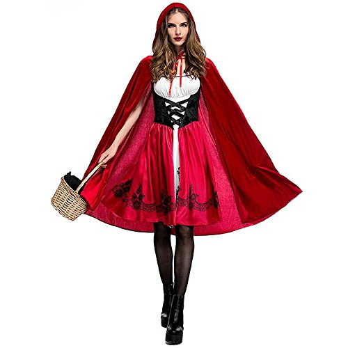 Halloween 高品質 ハロウィン 大人cosplay 仮装 衣装 コスプレ コスチューム♪赤ずきん メイド服 パー...