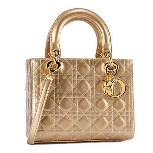 Christian Dior coco ハンドバッグ トートバッグ ショルダーバッグ 通勤 通学 手提げ 肩掛け 斜め掛け056-1金