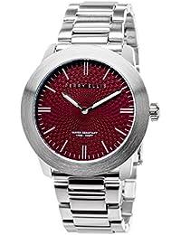 [ペリー・エリス]Perry Ellis 腕時計 SLIM LINE(スリム・ライン) クォーツ 42 mmケース ステンレススティールバンド 07004-02 メンズ 【正規輸入品】