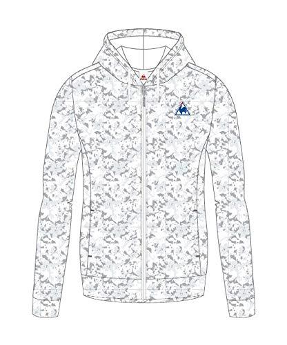 ルコックスポルティフ(le coq sportif) レディース スウェットジャケット QMWMJF42 WHT ホワイト L