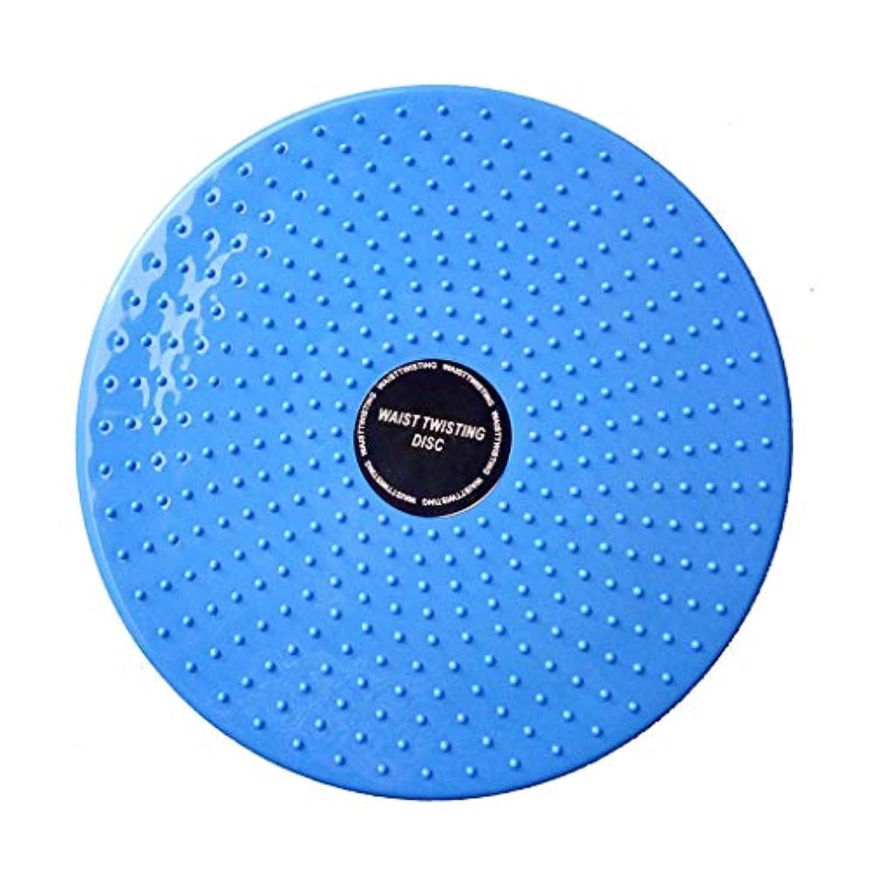 音楽家花瓶誇大妄想バランスディスク GUU ツイストトルクプレート 有酸素フィットネスリフレクソロジーマグネットバランス回転盤 ホームスポーツボード 持ち運びが容易 (Color : Blue)