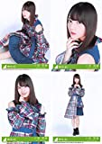 【小坂菜緒】 公式生写真 欅坂46 黒い羊 封入特典 4種コンプ