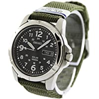 [セイコー]SEIKO 腕時計 スポーツカーキグリーン SNE095P2 ソーラー メンズ [逆輸入品]