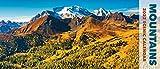 Mountains 2022 Panoramic Wall Calendar