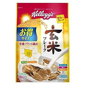 ケロッグ 玄米フレーク 徳用袋 400g