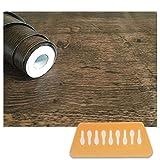「RELIVE」壁紙シール 簡単 模様替え おしゃれ 木目 DIY【45cm× 10m】 (アンティークブラウン)