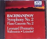 Symphony 2 / Piano Concerto 2 by Rachmaninoff (1995-07-28)