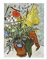 Vaso Di Fiori Con Papavero by Vincent Van Gogh 20X 16アートプリントポスター