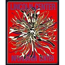 ポスター ドロシー ガレスピー Lincoln Center Information Center 1989年 額装品 ウッドハイグレードフレーム(ネイビー)