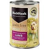 Black Hawk - Grain Free, Wet Dog Food, Lamb, 400g