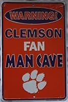 ClemsonファンメタルMan Caveサイン