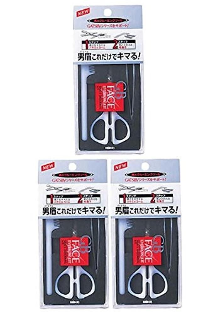 トランジスタスキームエスニック【まとめ買い】GATSBY (ギャツビー) メンズアイブローキット×3個