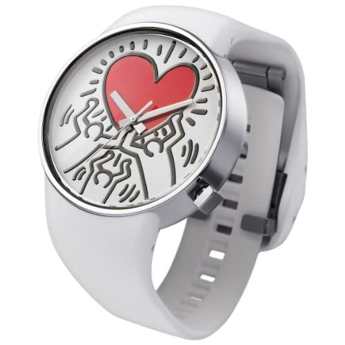 日本正規品 o.d.m オーディーエム 腕時計 DD134-12 Keith Haring キースへリング コレクション ユニセックス メンズ レディース 腕時計 (ホワイト(DD134-12))