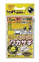 がまかつ(Gamakatsu) うきまろ わくわくワカサギ 5本仕掛 UM121 2号-ハリス0.3. 42209-2-0.3