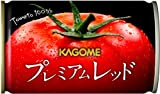 【Amazon.co.jp限定】 カゴメ プレミアムレッド 高リコピントマト50% 使用(食塩無添加) 160g×30本