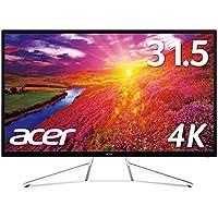 Acer モニター ディスプレイ ET322QKwmiipx 31.5インチ/VA/4K/DisplayPort v1.2/HDR Ready対応/AMD Free Sync/ 3年保証