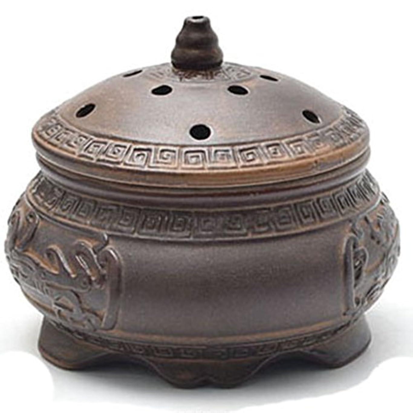 受益者合計縞模様の(ラシューバー) Lasuiveur 香炉 線香立て 香立て 職人さんの手作り 茶道用品 おしゃれ