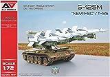 モデルズビット 1/72 S-125M NEVA-SC 自走地対空ミサイル T-55車体 (A&Amodelブランド) プラモデル MDVAAM7217