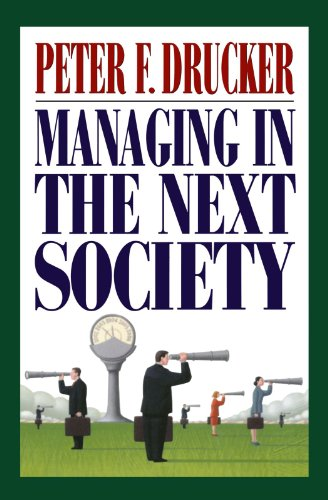Managing in the Next Societyの詳細を見る