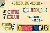 Culture Club???6?Separateロゴステッカー/デカール。本物のレトロヴィンテージ1980???ステッカー/デカール
