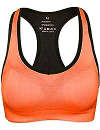 d0c939d6ec9fe Amazon.co.jp: オレンジ - スポーツブラ / レディース: 服&ファッション小物