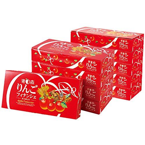青森 土産 青森 りんご フィナンシェ 10箱セット (国内旅行 日本 青森 お土産)