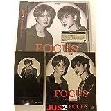 Jus2 FOCUS JB Yugyeom 通常盤 初回 MINI ALBUM アルバム Japan CD ジェボム トレカ 応募券 タワレコ 会場 ステッカー付 ユギョム