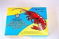 中華食品 龍蝦片 エビせんべい 赤 227g おやつ  酒のおつまみ 油で揚げ